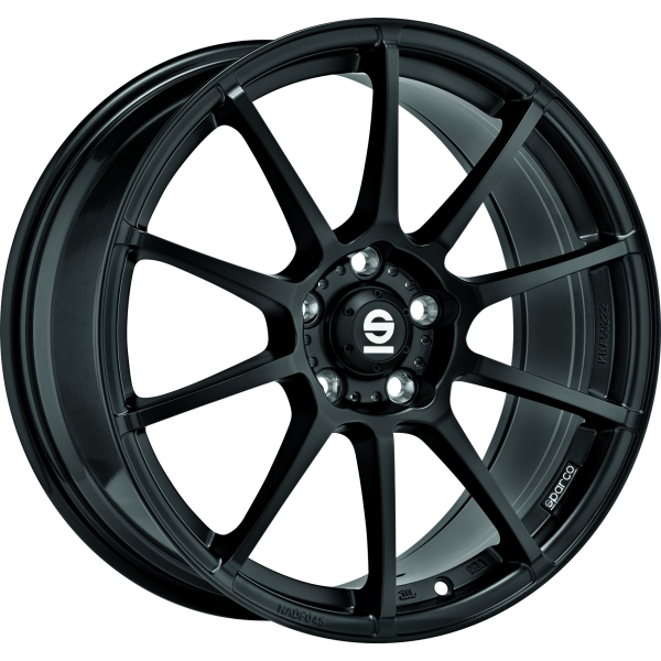 SPARCO ASSETTO GARA - 7x17 ET30 - 4x100 - matt black