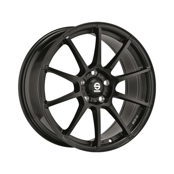Sparco ASSETTO GARA - 8x18 ET48 - 5x100 - matt black