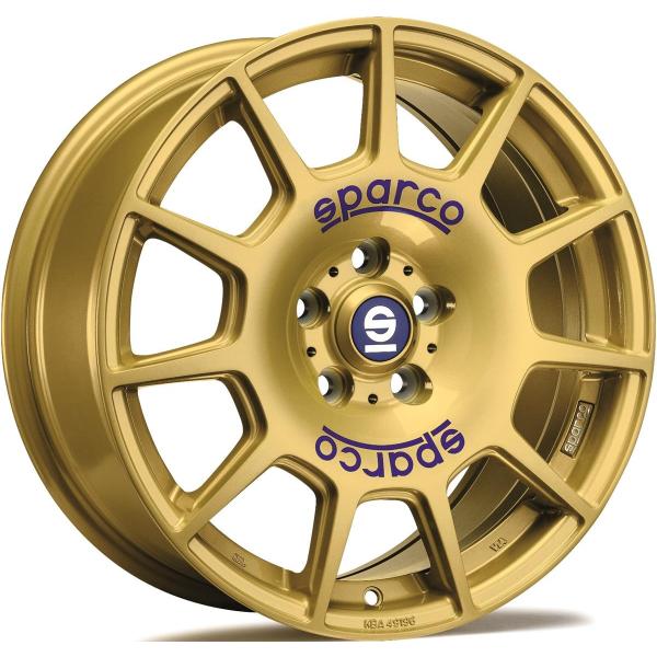 Sparco TERRA - 7,5x17 ET48 - 5x100 - race gold