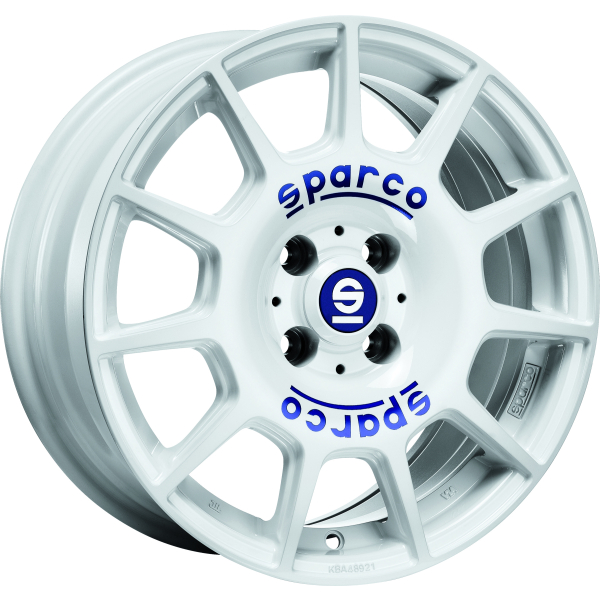 SPARCO TERRA - 7,5x17 ET35 - 5x100 - white