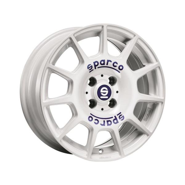 Sparco TERRA - 7x16 ET37 - 4x100 - white
