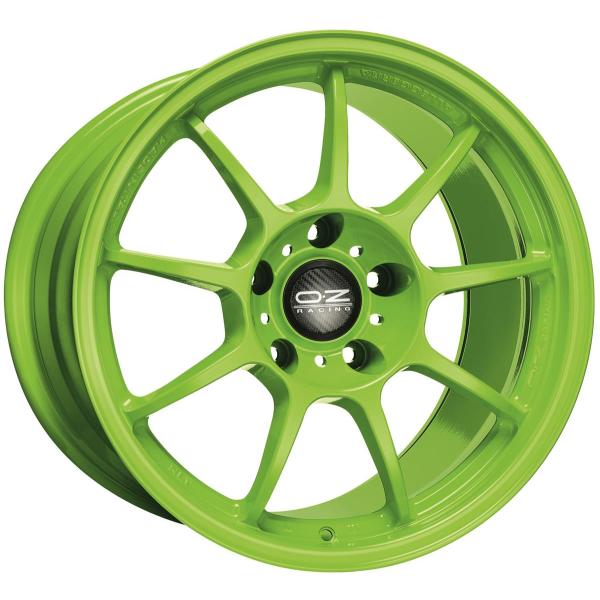 OZ ALLEGGERITA HLT - 9x18 ET43 - 5x130 - 71,6 - acid green