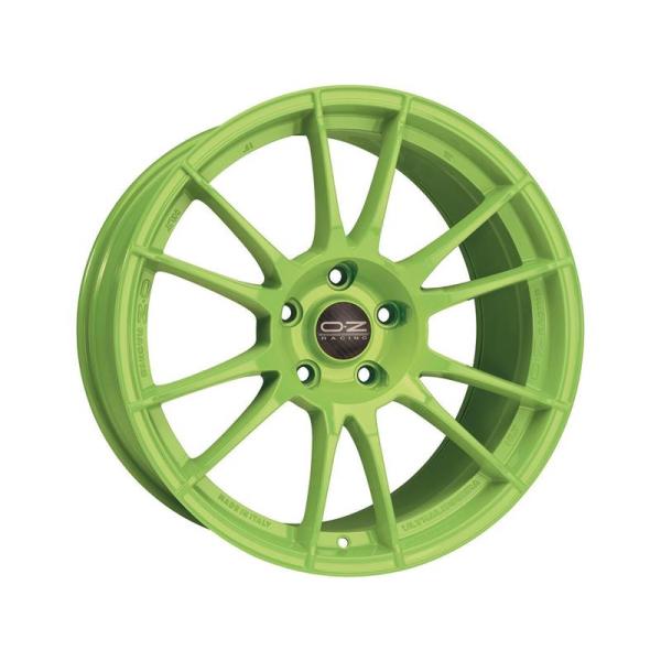 OZ ULTRALEGGERA HLT - 10x19 ET32 - Concave - 5x120 - acid green