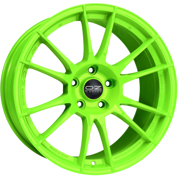 OZ ULTRALEGGERA HLT - 12x19 ET68 - Concave - 5x130 - 71,6 - acid green