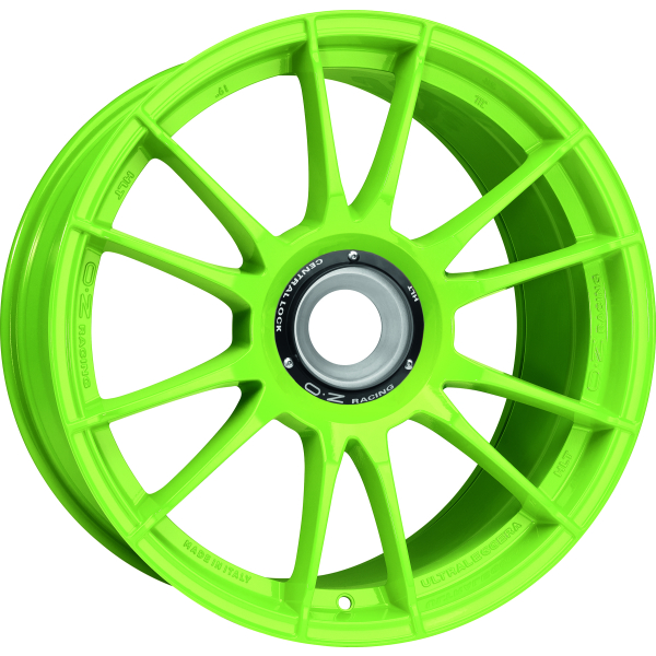 OZ ULTRALEGGERA HLT CL - 12x19 ET63 - 15x130 - ZV - acid green