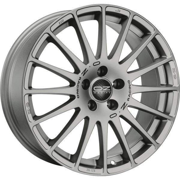 OZ SUPERTURISMO GT - 7x17 ET40 - 4x100 - grigio corsa