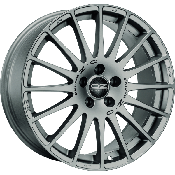OZ SUPERTURISMO GT - 7x17 ET44 - 4x100 - grigio corsa