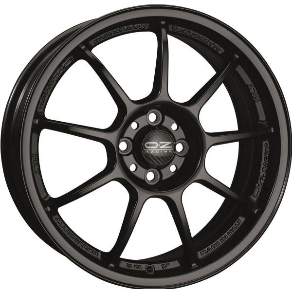 OZ ALLEGGERITA HLT - 7x17 ET37 - 4x100 - matt black