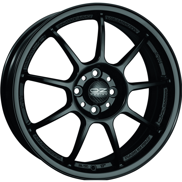 OZ ALLEGGERITA HLT - 9,5x18 ET35 - 5x120 - matt black