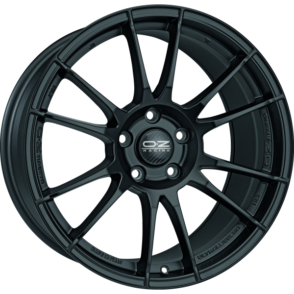 OZ ULTRALEGGERA - 8x18 ET35 - 5x112 - matt black