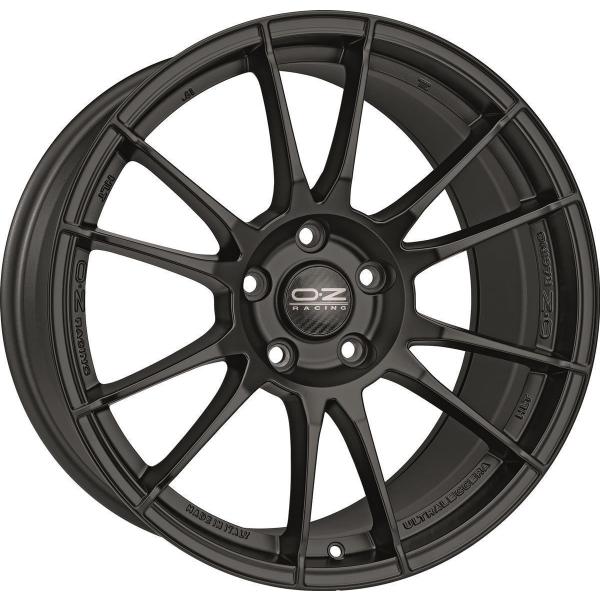 OZ ULTRALEGGERA - 9x18 ET40 - 5x120 - matt black
