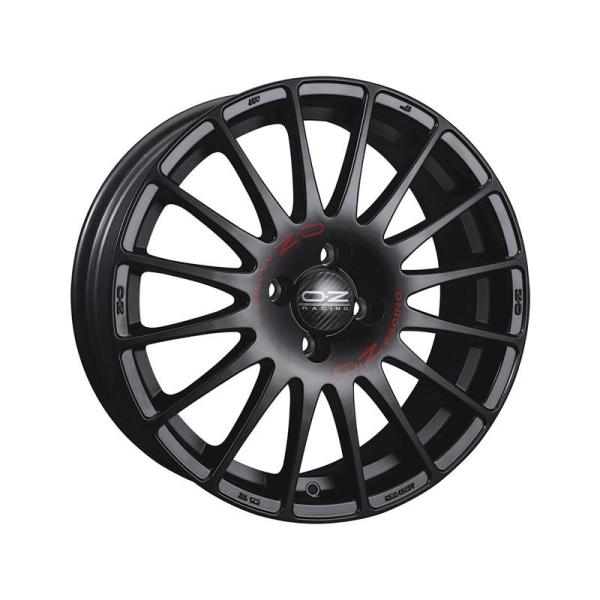 OZ SUPERTURISMO GT - 7x17 ET48 - 4x108 - matt black