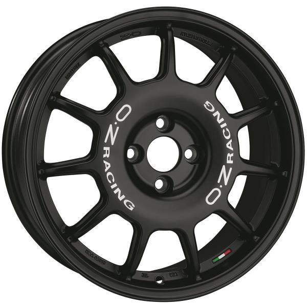 OZ LEGGENDA - 7x17 ET30 - 4x100 - matt black