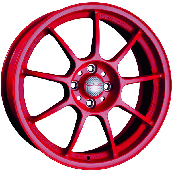 OZ ALLEGGERITA HLT - 9,5x18 ET35 - 5x120 - red