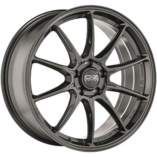 OZ HYPER GT - 7,5x18 ET47 - 5x120 - star graphite