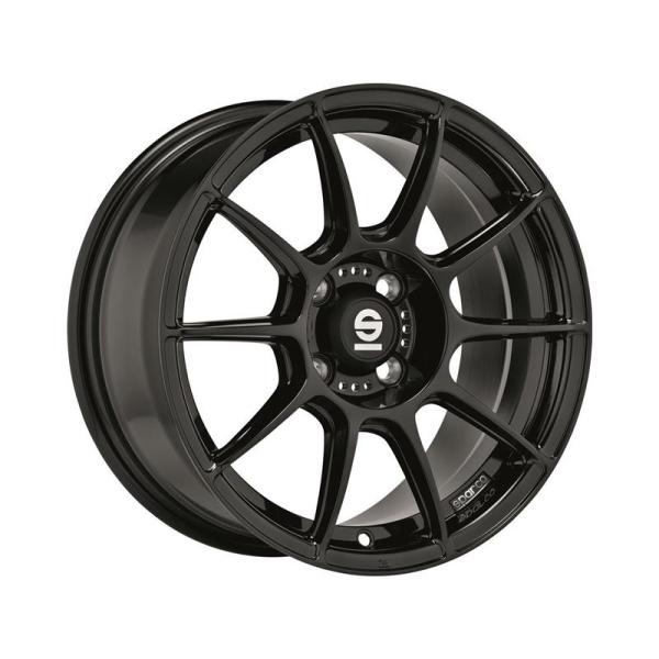 Sparco FF1 - 7x17 ET44 - 4x100 - gloss black